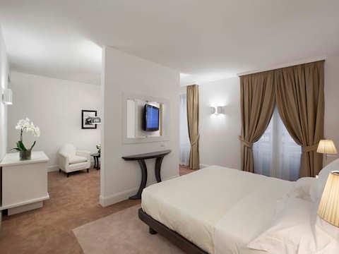 Junior Suite Salon d'accueil Maison Milano Una Esperienze