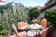 Petit Palais hotel Milan centre : Terrasse
