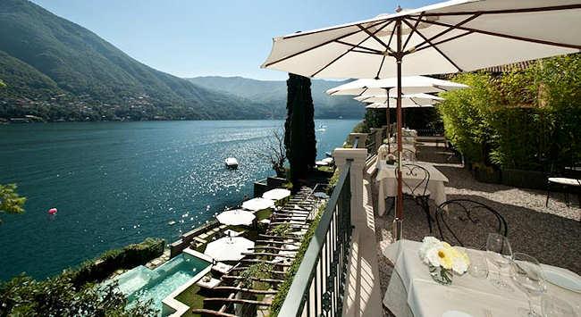 Relais Villa Vittoria, hotel 4 etoiles sur le lac de Come en Italie