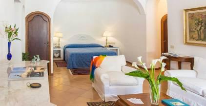 Une Suite de l'Hotel Poseidon à Positano sur la cote amalfitaine