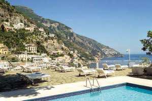 Hôtel Poseidon, au coeur du village de Positano en Italie