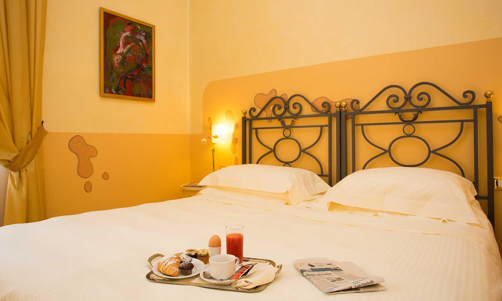 Chambre classique Costantinopoli 104 hotel de charme à Naples, Italie