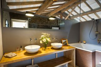 Boutique Hotel Monaci delle Terre Nere (Sicile) : Salle de bain