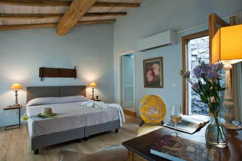 Boutique Hotel Monaci delle Terre Nere (Sicile) : Chambre supérieure
