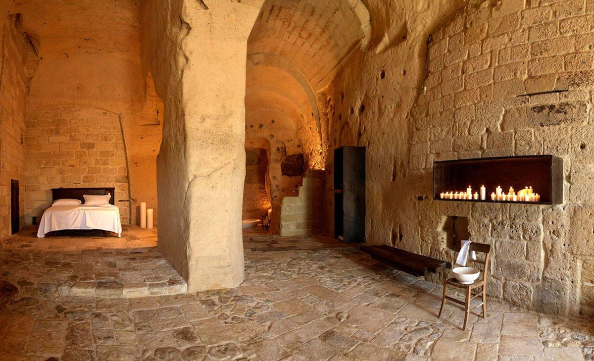 Sextantion Le Grotte Della Civita, Hotel de charme Matera Italie : Grotta 8