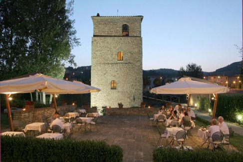 Torre Santa Flora, hotel de charme en Toscane (Arezzo, Subbiano) : Tour médiévale