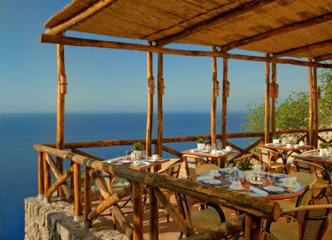 Monastero Santa Rosa : restaurant