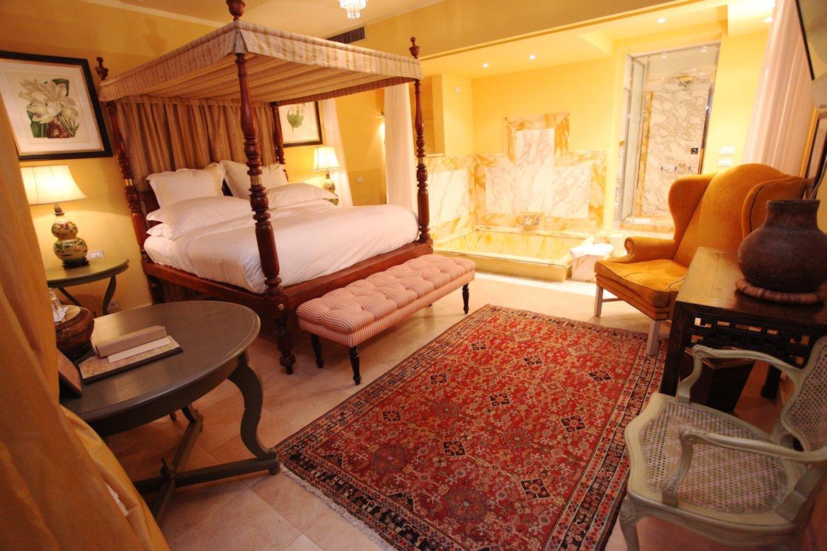 Une Suite de l'hotel Villa Mangiacane