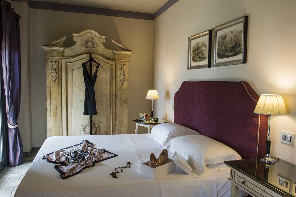 Villa Carlotta boutique hotel Taormina, Sicile : Chambre Deluxe
