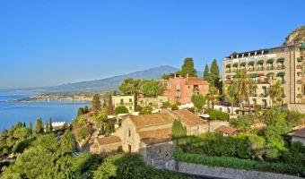 Villa Carlotta, hôtel de luxe à Taormina en Sicile (Italie)