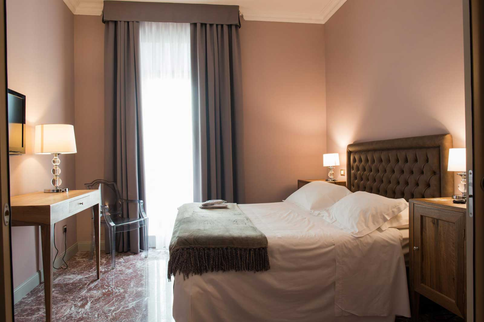 Junior Suite de l'Hotel Palazzo dei Mercanti (Ascoli Piceno, Italie