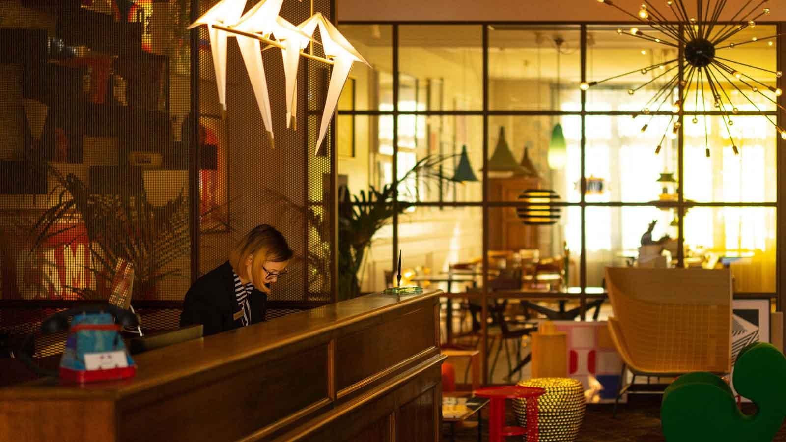Hotel Trieste, hotel 3 étoiles en centre ville de Vérone Italie : réception