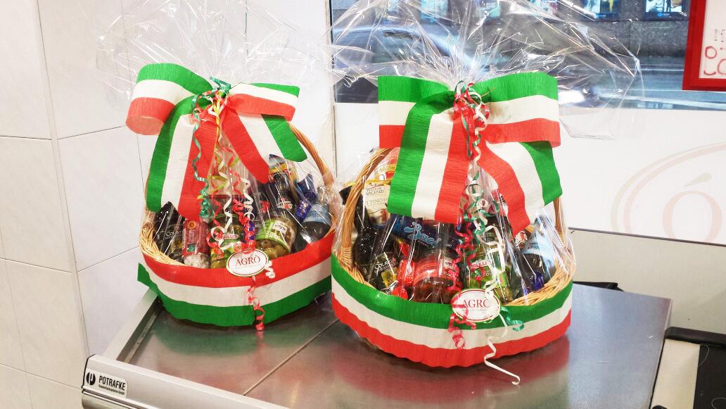 Leistungen Italienischer Supermarkt