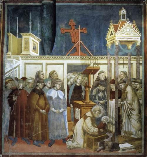 Legende van de Heilige Franciscus van Assisi, Institutie van de Kribbe in Greccio