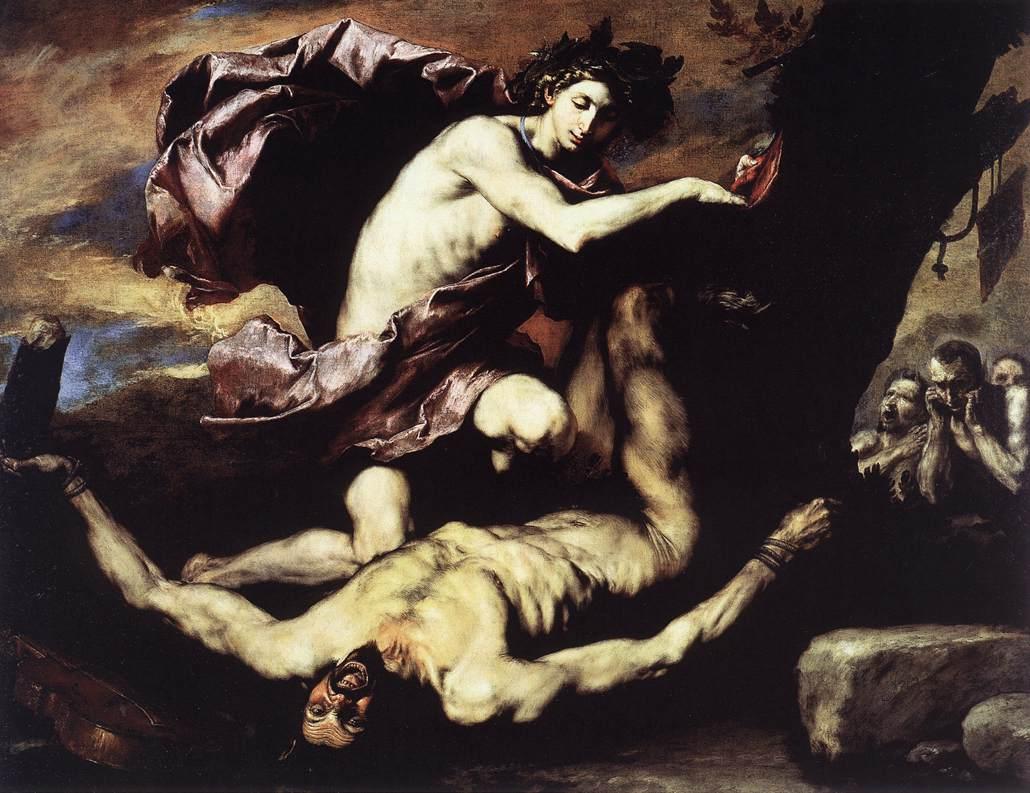 Jusepe de Ribera, Apollo en Marsyas, 1637
