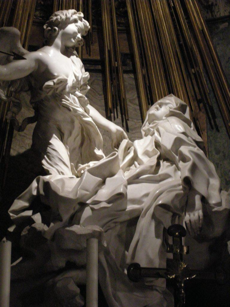 Gianlorenzo Bernini, De Extase van de Heilige Theresa, Santa Maria della Vittoria Rome