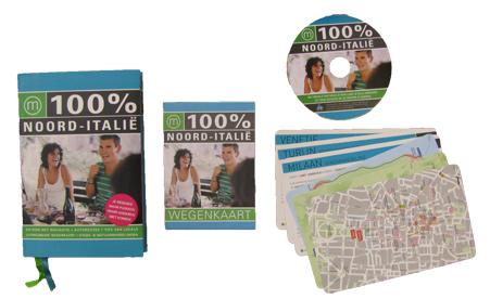 100% Noord-Italie reisgids van mo'media