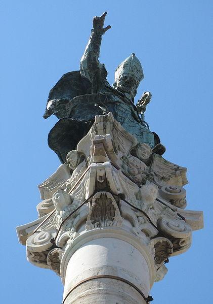 Colonna di Sant'Oronzo, Lecce, bron Wikipedia