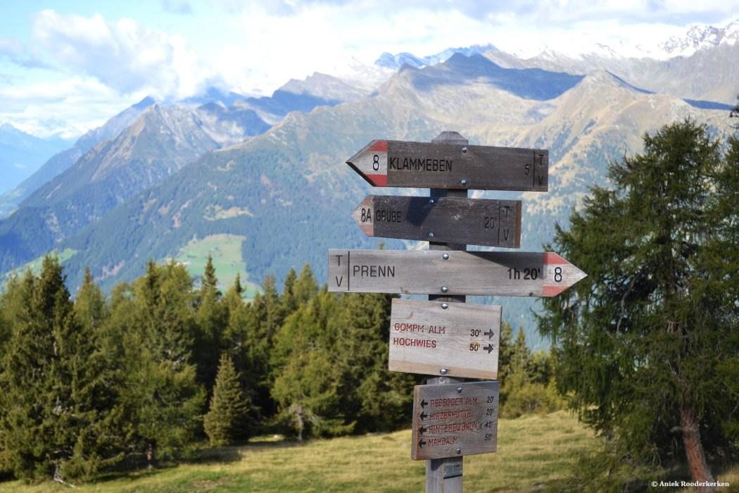 Hiken in Zuid-Tirol