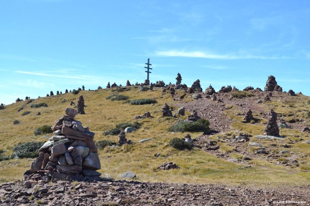 Uitzicht vanaf de hike route