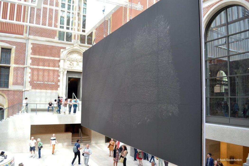 Pelle di grafite - Giano, Giuseppe Penone, Rijksmuseum