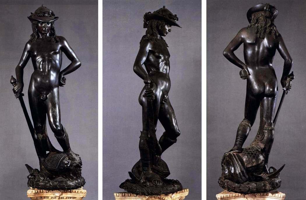 David, Donatello. Bargello, Florence