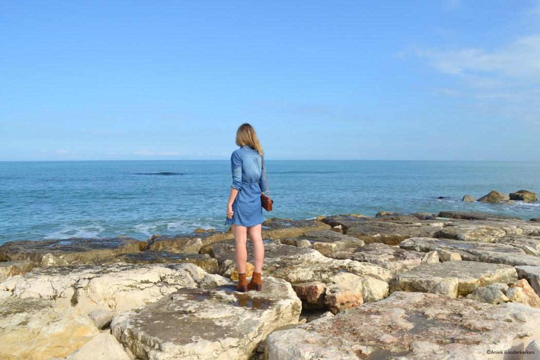 Aan de kust van Puglia