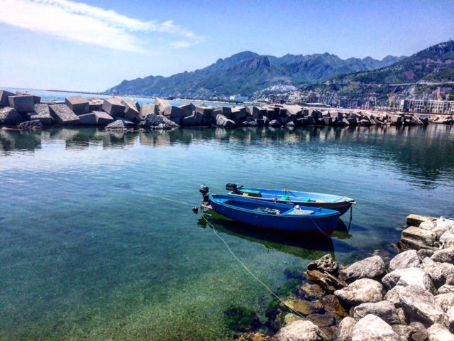 Boulevard Salerno Italië