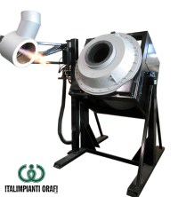 Top Blown Rotary Furnace | Italimpianti Orafi