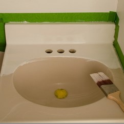 Kitchen Sink Paint 4 Hole Faucets How To A 10