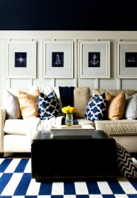Yellow And Blue Living Room - [peenmedia.com]