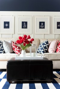 Red White Blue Americana Summer Decor - It All Started ...