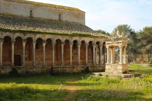Colonnade and Well