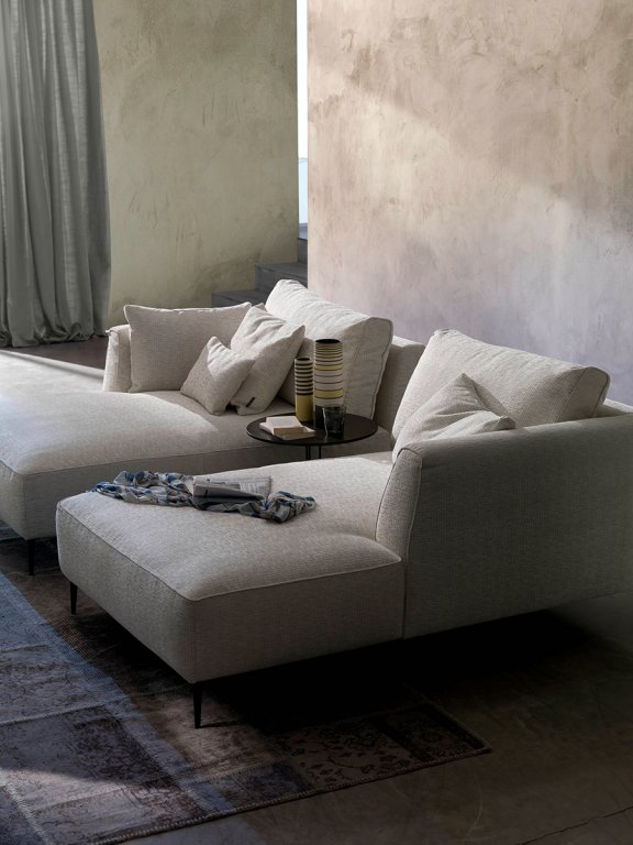 3 seater fabric sofa sectional sofas l shaped dudy sectional, chateau d'ax - italmoda furniture store