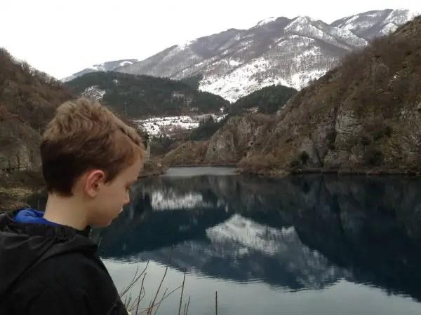 Scanno, Abruzzo in February