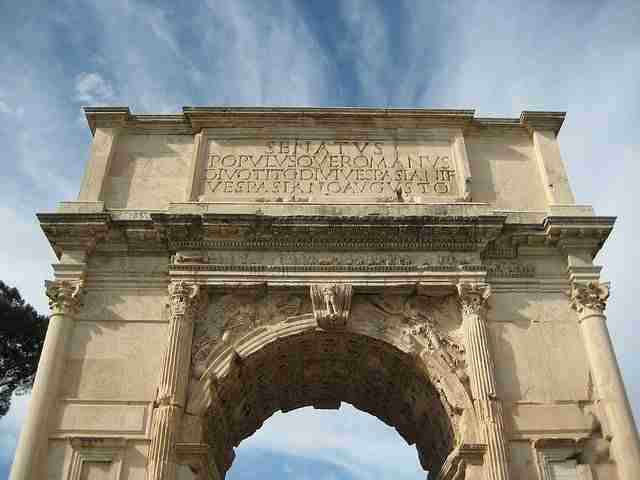 Arch of Titus in Rome