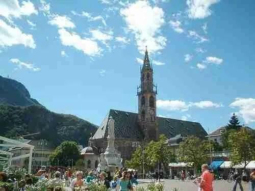 Duomo of Bolzano Italy