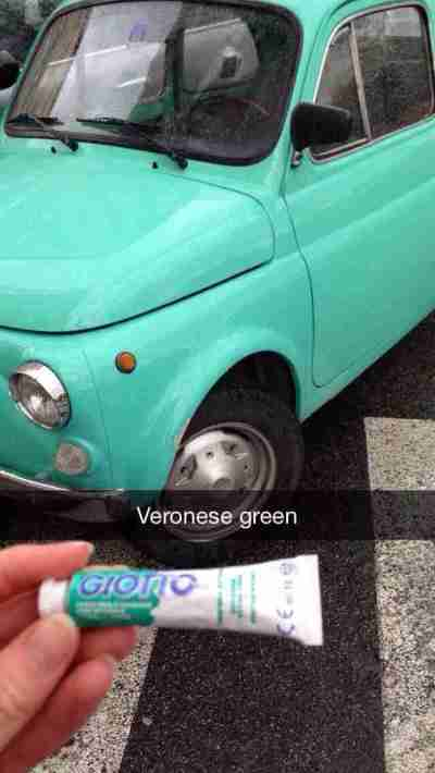 Veronese green Fiat