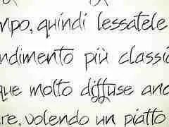 Text in Italian