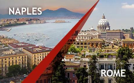 Rome To Naples Naples To Rome Train Tickets Italotreno
