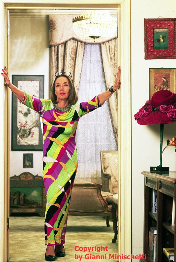 Oriana Fallaci in New York  Italpress  Agenzia