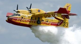 Incendi boschivi, oggi 15 richieste  di intervento aereo