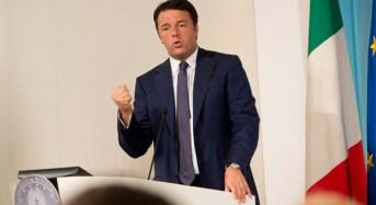 """Genova e non solo. Renzi: """"Basta scaricabarile: è il tempo del coraggio e nessuno può tirarsi indietro"""""""