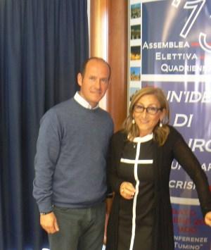 Giorgio Biazzo e Antonella Caldarera