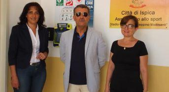 """Ispica, defibrillatore salvavita al """"Peppino Moltisanti"""""""