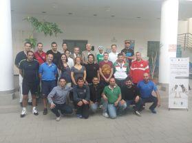 I partecipanti al seminario di aggiornamento
