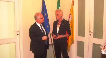 "Siracusa. Commissario Ortello incontra Presidente Aig Anita Baldi: ""turismo giovanile risorsa anticrisi"""