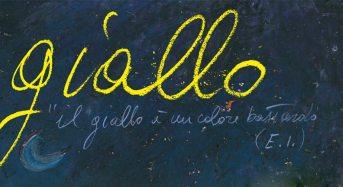 """Modica. """"Giallo"""", dal 6 al 12 dicembre Ignazio Monteleone espone a Palazzo De Leva"""