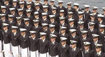 Marina Militare: concorso per l'ammissione di 108 allievi alla prima classe dei corsi normali dell'accademia navale
