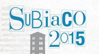 Subiaco 2015 al via. Aperte le celebrazioni per il 550° anniversario del primo libro stampato in Italia